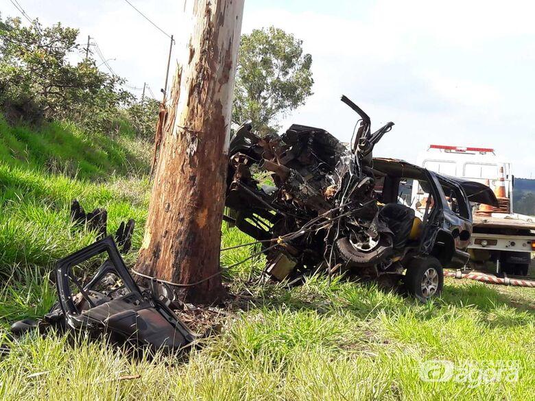 Homem que morreu após bater em árvore tirou a própria vida - Crédito: Maycon Maximino