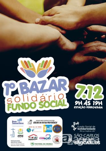 Fundo Social e entidades realizam bazar solidário de natal neste sábado -