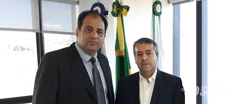 Vereador Sérgio Rocha busca recursos para 2020 em Brasília - Crédito: Divulgação