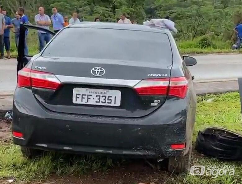 Acidente mata duas pessoas na BR-060; um dos veículos envolvidos tem placas de São Carlos - Crédito: Redes Sociais