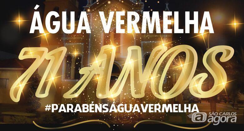 Aniversário de Água Vermelha será comemorado com muita festa neste domingo - Crédito: Divulgação