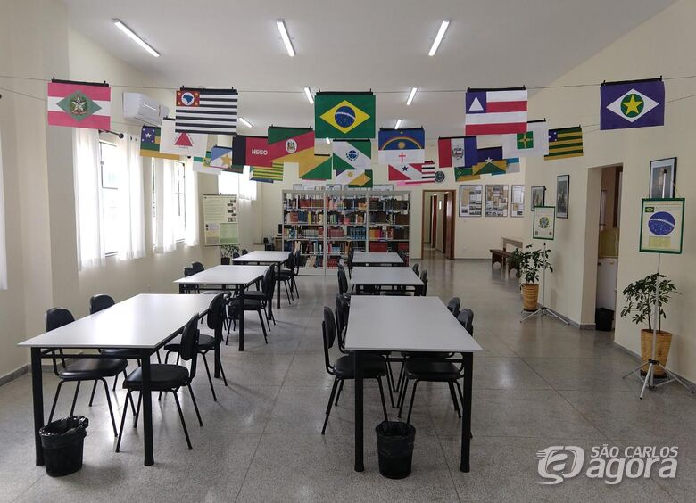 """Biblioteca Municipal de Ibaté recebe exposição """"Bandeiras dos Estados Brasileiros"""" - Crédito: Divulgação"""