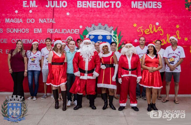 Escola municipal Júlio B. Mendes realiza Cantata de Natal - Crédito: Divulgação