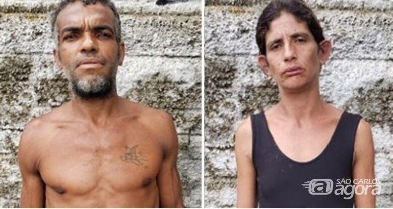 Identificados corpos de casal encontrado sem os olhos na região - Crédito: Divulgação