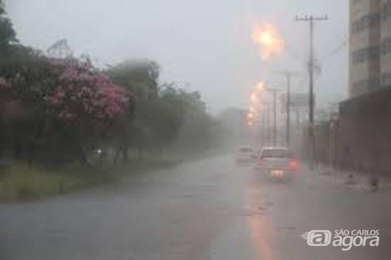 Chegada de nova frente fria traz mais chuva nesta semana - Crédito: Arquivo/SCA