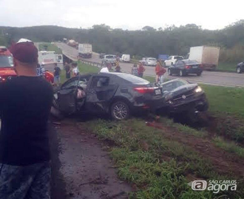 Motorista de Toyota de São Carlos envolvido em acidente que matou duas pessoas é preso em GO - Crédito: Divulgação