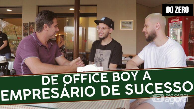 De Office Boy a empresário de sucesso - Crédito: Divulgação