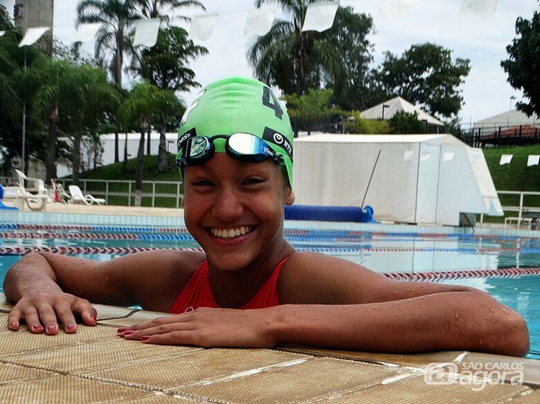 Campeã brasileira, são-carlense quer agora ser a melhor da América do Sul no triathlon - Crédito: Marcos Escrivani