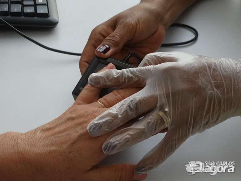 53% dos eleitores de São Carlos já realizaram o recadastramento biométrico - Crédito: Marcos Escrivani