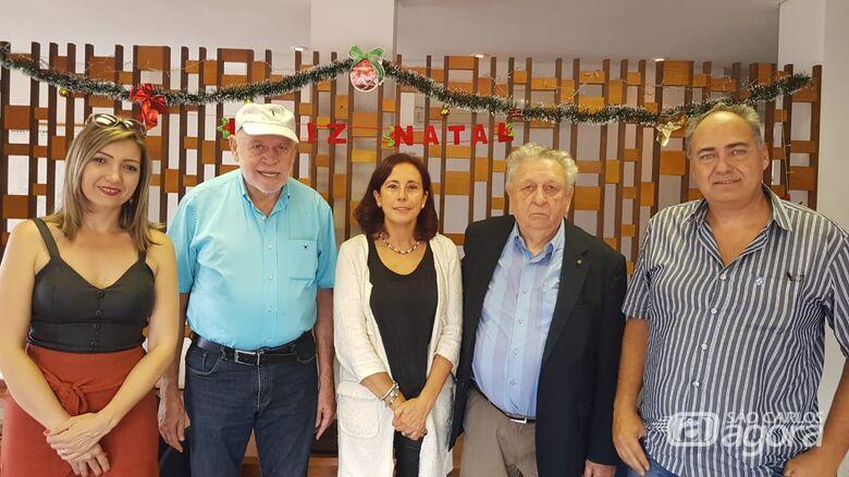 Prefeito Airton Garcia recebe Delegada do CDTI da Espanha - Crédito: Divulgação