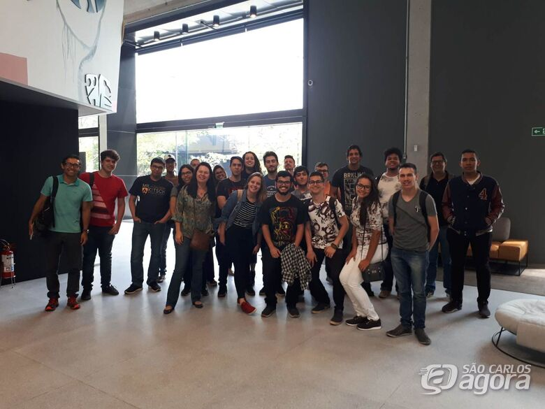 Alunos do IFSP São Carlos visitam o Mercado Livre - Crédito: Divulgação