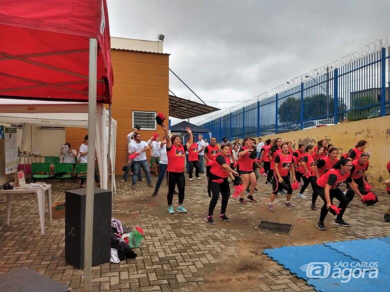 Equipes da USF do Antenor Garcia realizam Feira de Saúde -