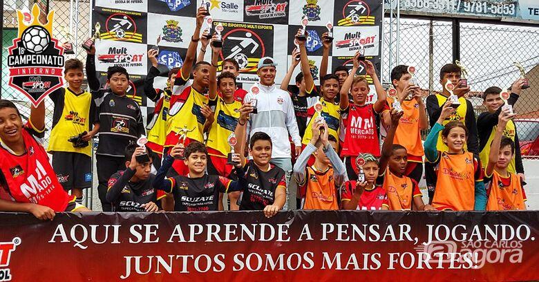 Mult Sport realiza mais um encerramento de Campeonato Interno - Crédito: Divulgação