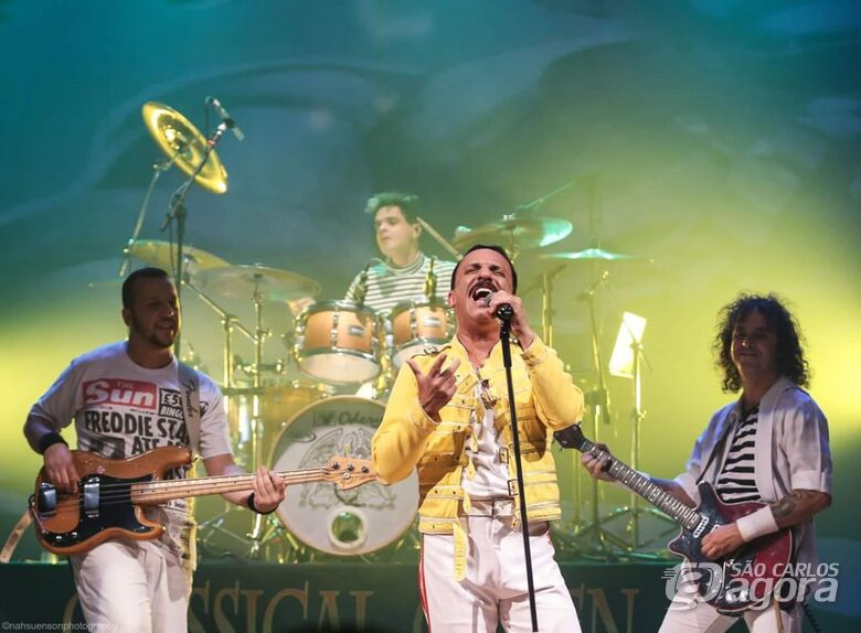 Unimed realiza show beneficente com bandas covers do Queen e Barão Vermelho em São Carlos - Crédito: Divulgação
