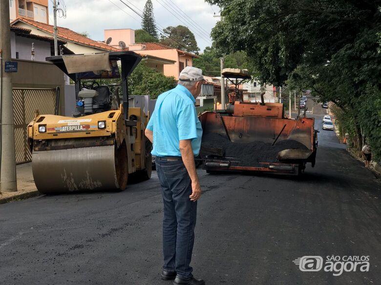 Prefeitura inicia serviço de recapeamento no Jardim Alvorada, Planalto Paraíso e Arnon de Melo. - Crédito: Divulgação