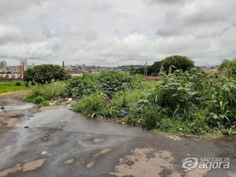 Azuaite aponta existência de depósito de lixo e situação de abandono na rua Antonio Botelho - Crédito: Divulgação