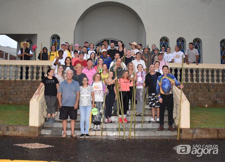 São-carlense participa da comemoração de um ano do Ramal Centro Paulista do Caminho da Fé - Crédito: Lau Menezes