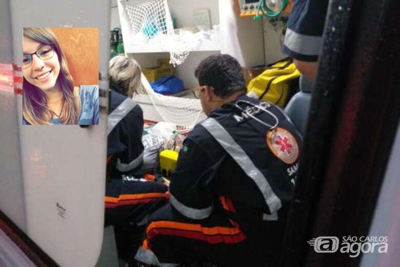 Morre jovem que foi atingida por ônibus na Miguel Petroni - Crédito: Luciano Lopes