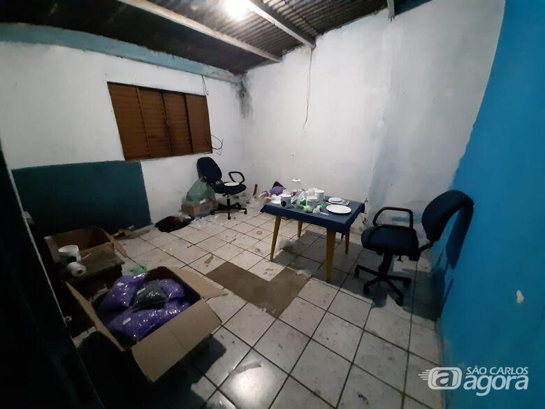 Refinaria de cocaína é desmantelada em casa em São Carlos - Crédito: Divulgação