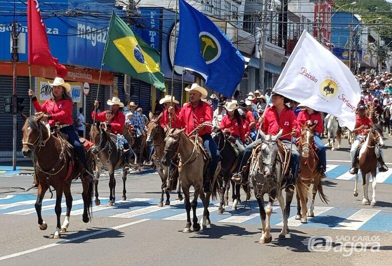Comitivas da região prometem prestigiar Cavalgada Solidária - Crédito: Divulgação