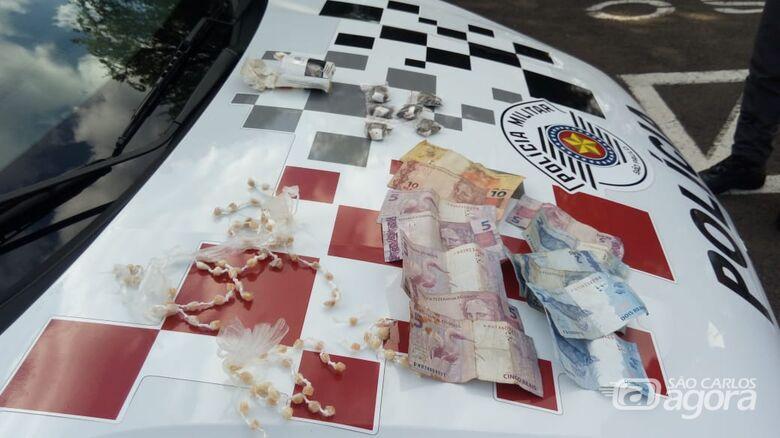 PM prende traficante na região do Boa Vista - Crédito: Luciano Lopes