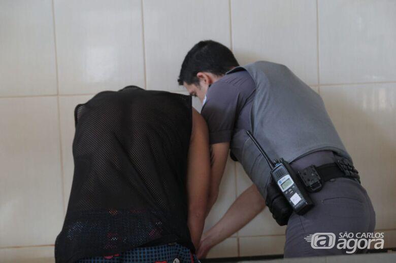 Homem é preso após descumprir medida protetiva - Crédito: Marco Lúcio