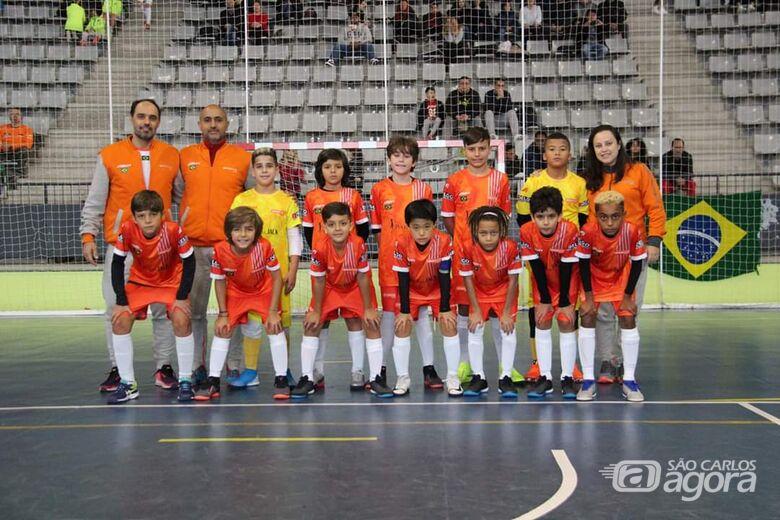 Atletas são-carlenses brilham e estão na semifinal do Mundial de Futsal - Crédito: Divulgação