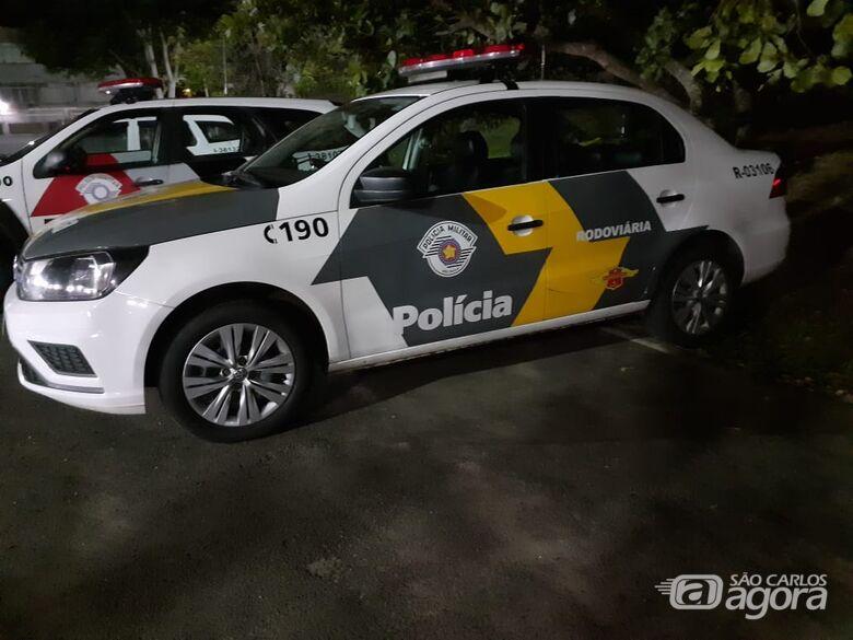 Operação da Polícia Rodoviária flagra motorista com CNH falsa - Crédito: Luciano Lopes/São Carlos Agora