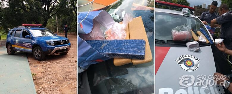 Droga, dinheiro e objetos apreendidos - Crédito: Divulgação/Maycon Maximino