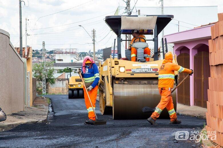 Confira as ruas que vão ser recapeadas nesta sexta-feira - Crédito: Divulgação