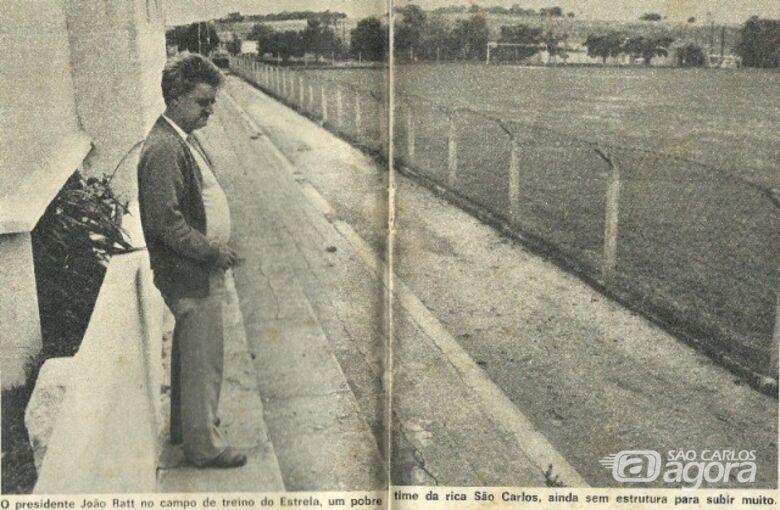 Estrela de Bela Vista: um clube que faz parte da história esportiva de São Carlos - Crédito: Arquivo Pessoal