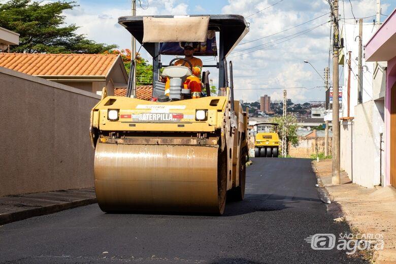 Confira as ruas que vão ser recapeadas nesta sexta-feira - Crédito: Arquivo SCA