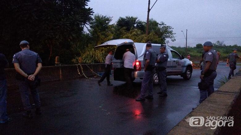 Bandido foi baleado após trocar tiros com o BAEP - Crédito: X-Tudo Ribeirão