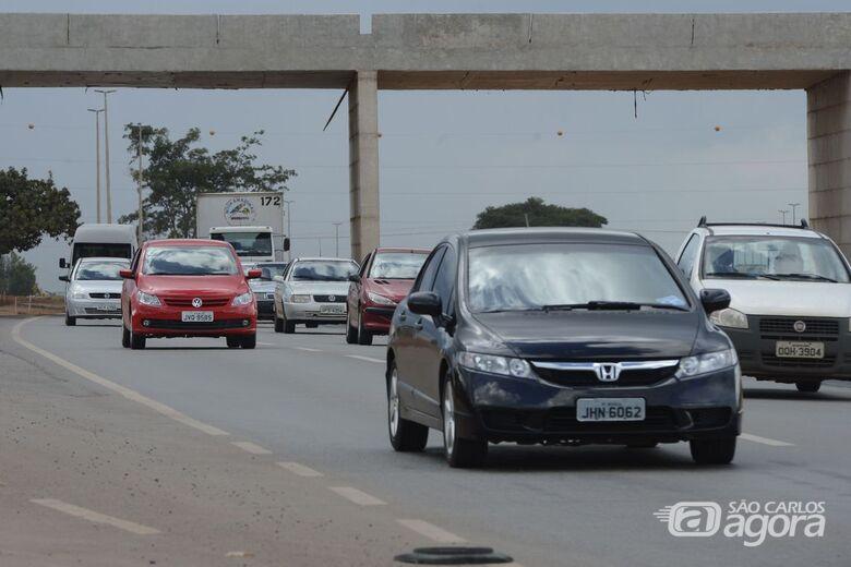 Estradas de SP têm pontos de lentidão na volta feriado de ano-novo - Crédito: Agência Brasil