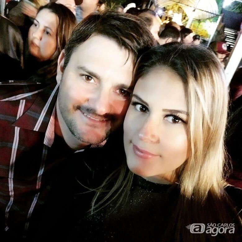 Sidney Segreto e Jéssica Alves Teixeira - Crédito: Arquivo Pessoal
