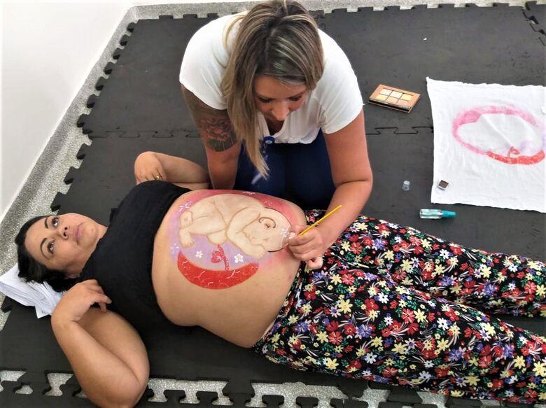 Maternidade da Santa Casa realiza primeiro curso para gestantes em Sao Carlos - Crédito: Daniele Merola
