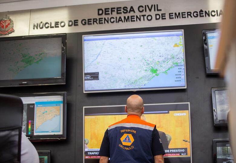 Defesa Civil estadual alerta para possibilidade de chuvas intensas até sexta-feira - Crédito: Divulgação