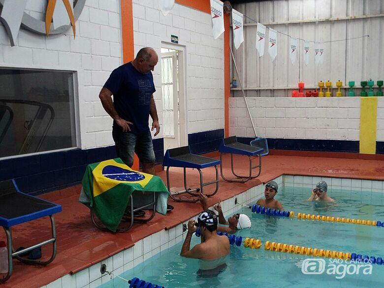 Natação de São Carlos inicia atividades e time ACD estará mais forte - Crédito: Marcos Escrivani