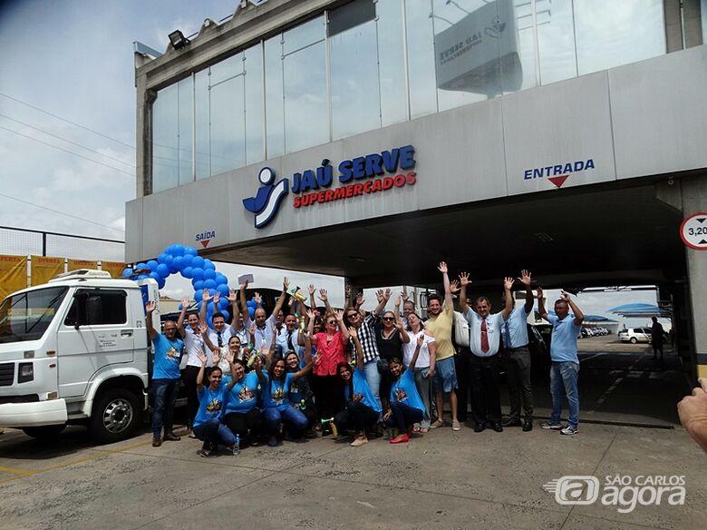 Jaú Serve faz festa e entrega T-Cross e Audi A3 para clientes ganhadores de promoção - Crédito: Marcos Escrivani