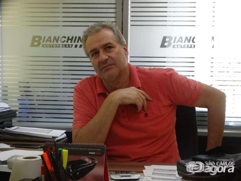 Empresário Julinho Bianchim - Crédito: Marcos Escrivani