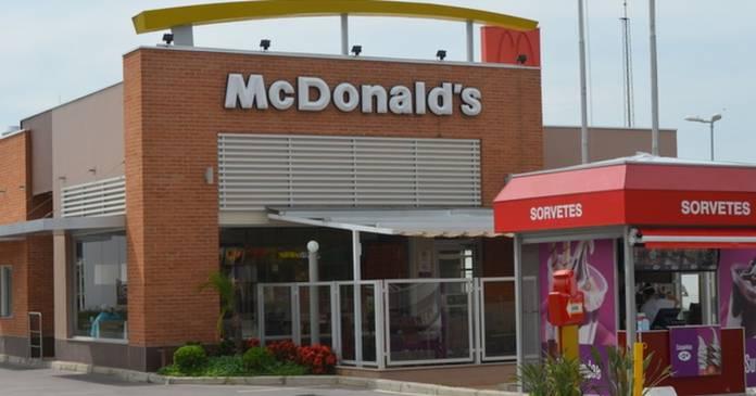 McDonald's da Rotatória do Cristo reabre ao público após ser atingido pela enchente - Crédito: Divulgação