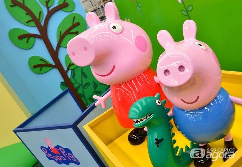 """""""Playground da Peppa Pig"""" começa no Shopping Iguatemi em São Carlos - Crédito: Imagem Ilustrativa"""