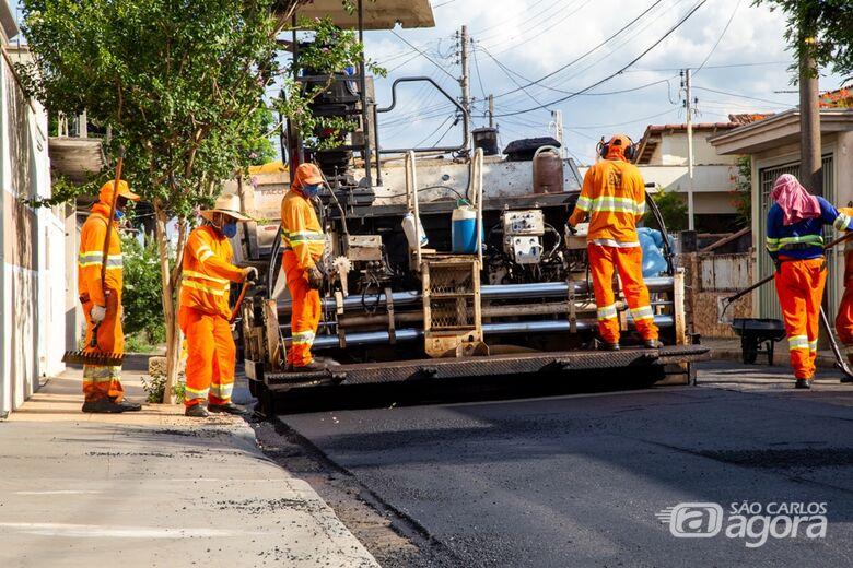 Veja as ruas que receberão o recape e o serviço de tapa-buraco nesta quinta-feira -