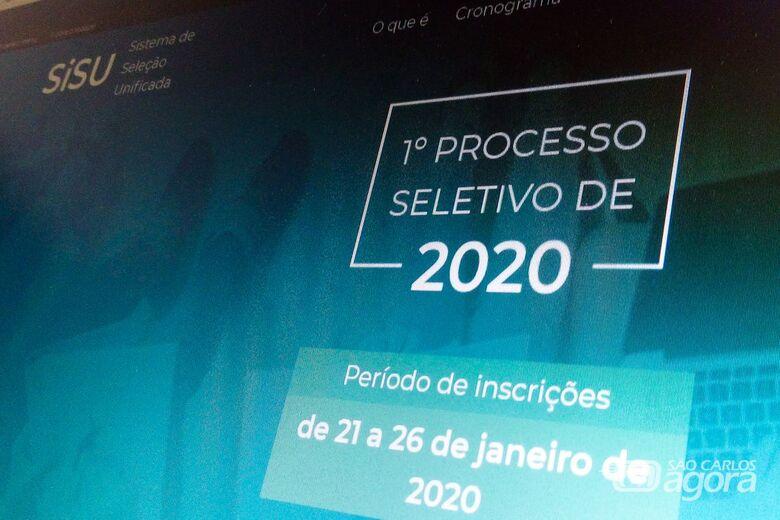 Divulgação do resultado do Sisu é liberada - Crédito: Agência Brasil