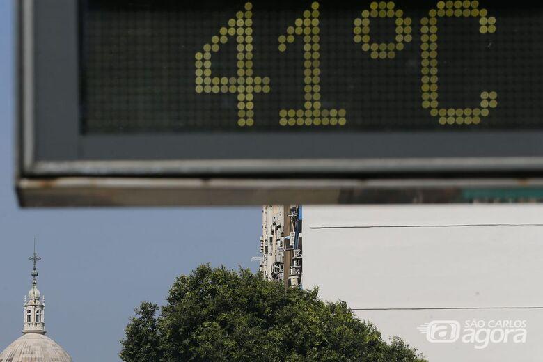 Ano de 2019 foi o segundo mais quente do mundo - Crédito: Fernando Frazão/Agência Brasil