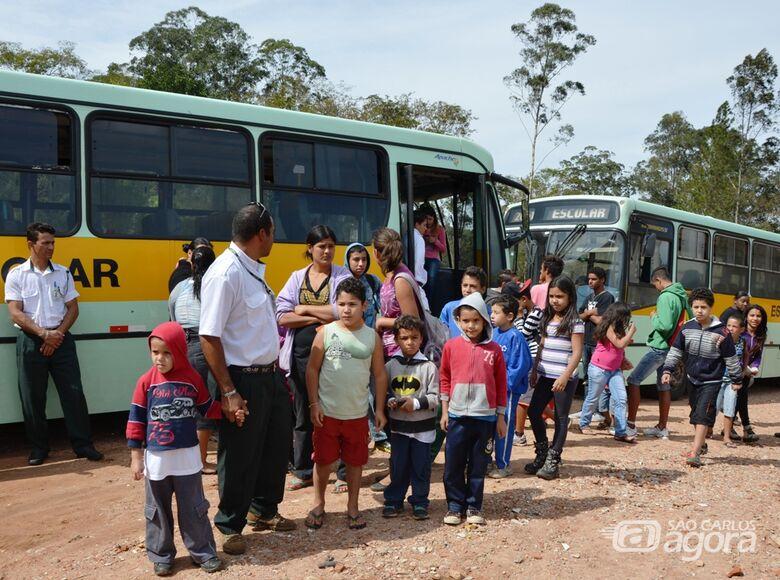 Secretaria de Educação realiza cadastro para o transporte rural - Crédito: Divulgação