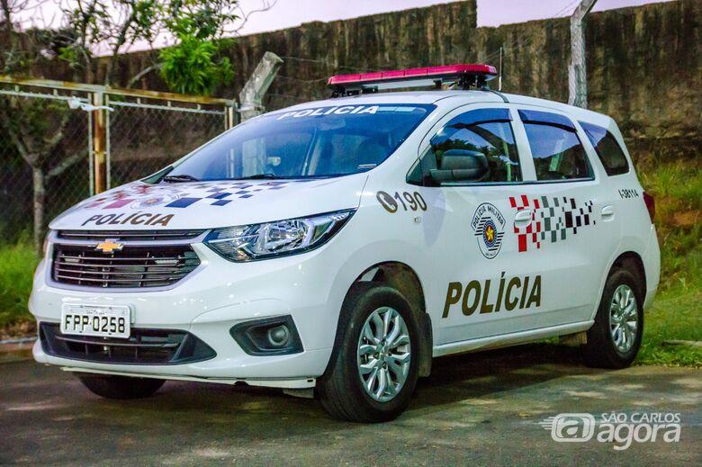 Ladrão é detido após tentar assaltar mulher em Ibaté - Crédito: Arquivo/SCA