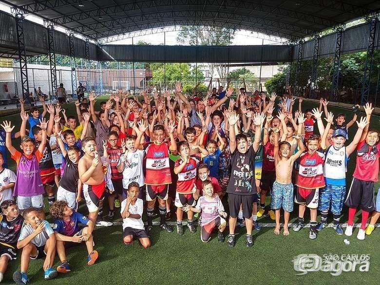 Mult Sport realiza Festival de Férias para seus alunos - Crédito: Divulgação