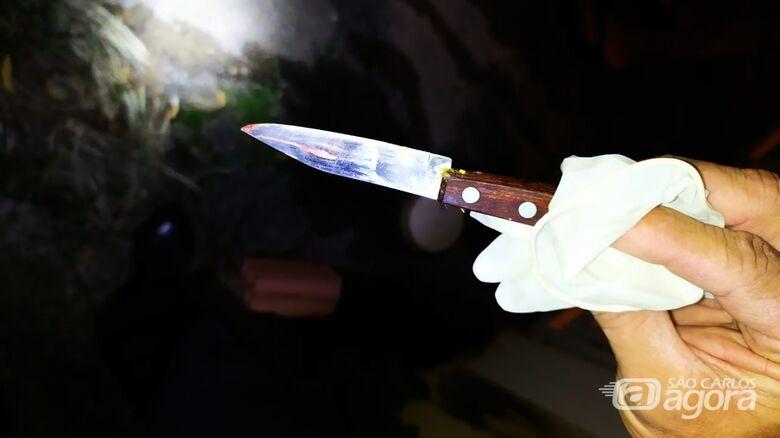 Homem embriagado é ferido com faca no Madre Cabrini - Crédito: Maycon Maximino