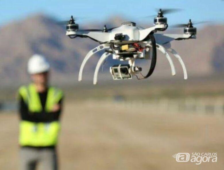 Drones irão auxiliar no trajeto da Cavalgada Solidária - Crédito: Divulgação
